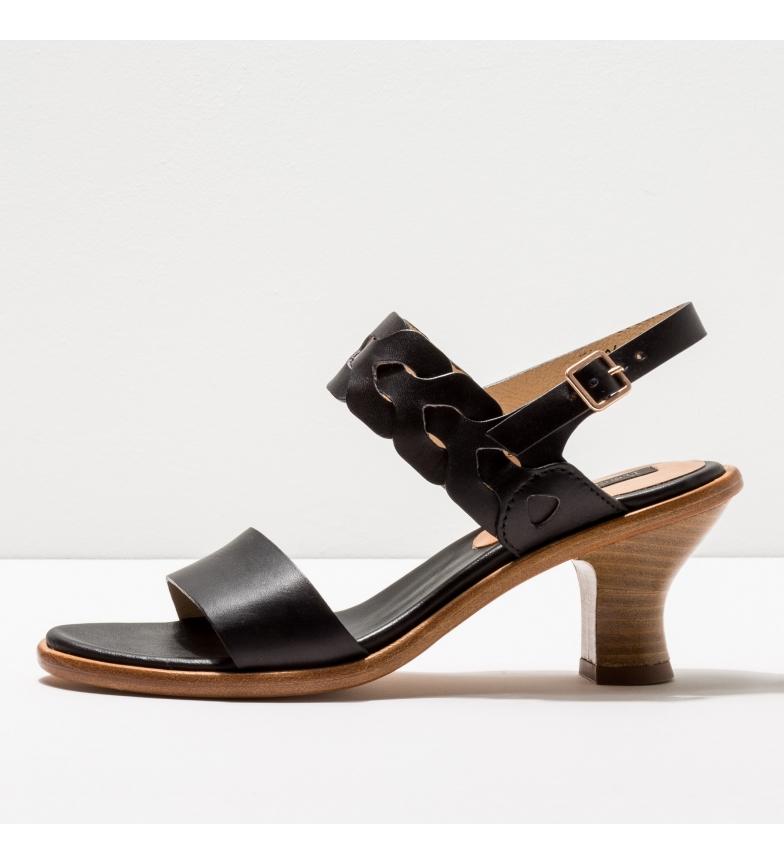 Comprar NEOSENS Sandales en cuir S3204 Negreda noir -Hauteur du talon : 6cm- -Hauteur du talon : 6cm- -Hauteur du talon : 6cm- -Sandales en cuir S3204 Negreda noir