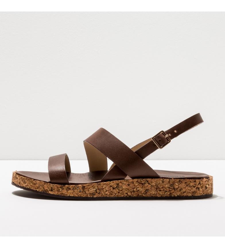 Comprar NEOSENS Brown leather sandals S3212 Tardana