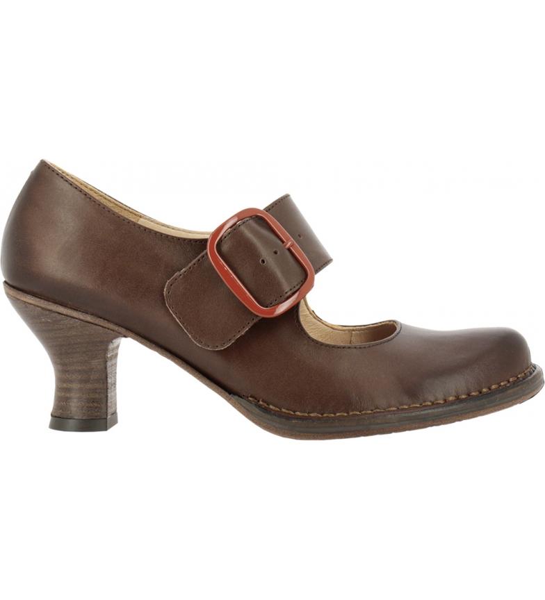 Comprar NEOSENS Scarpe in pelle marrone rococò S660 - Altezza del tacco: 6,5 cm