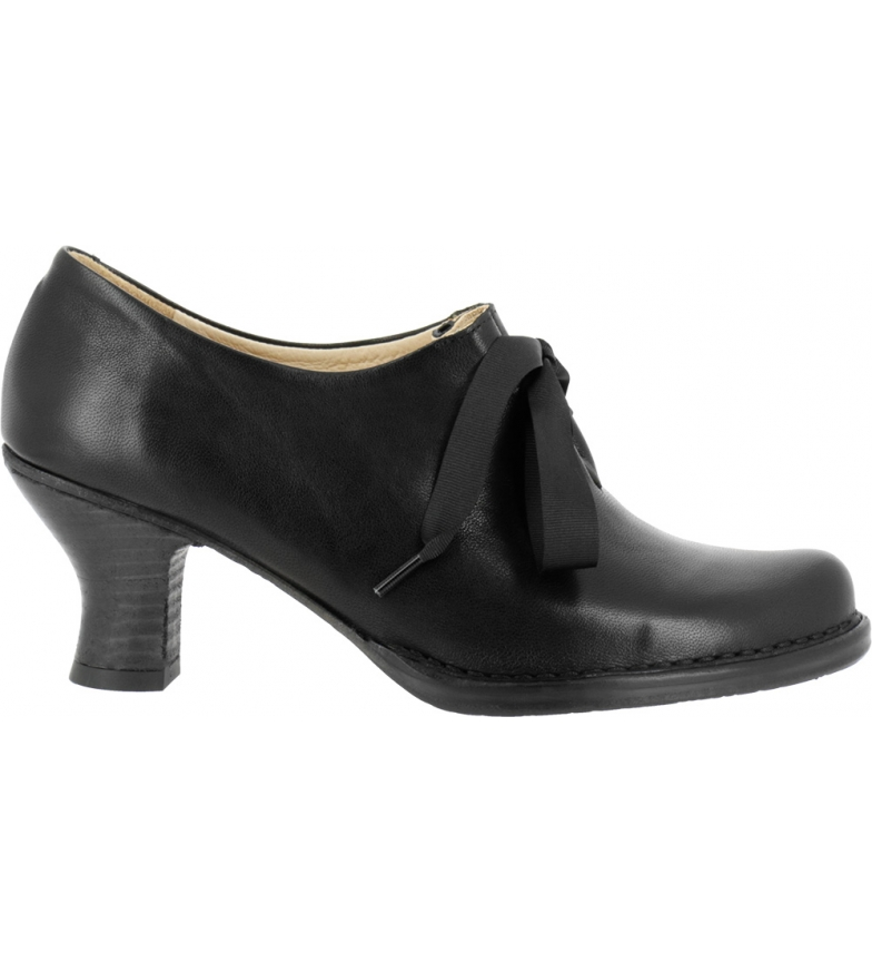 Comprar NEOSENS Black Rococo leather shoes S678 -Heel height: 6,5 cm