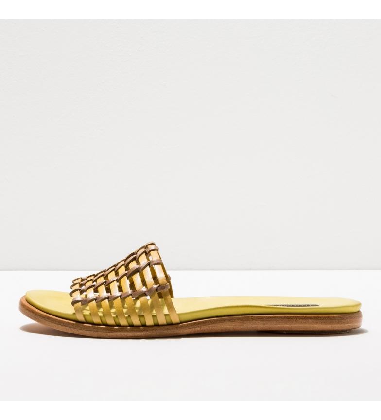 Comprar NEOSENS Sandálias de couro S919 amarelo Aurora