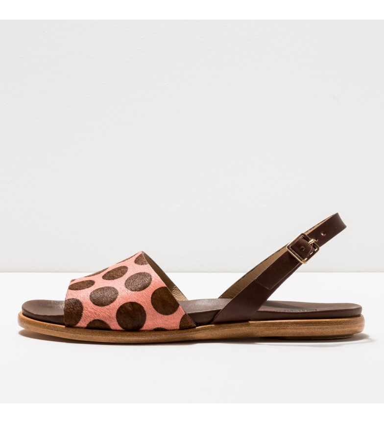 Comprar NEOSENS Leather sandals S920p Aurora with pink polka dots
