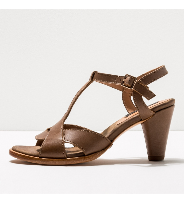 Comprar NEOSENS Sandales en cuir S968 Montua taupe -Hauteur du talon : 7,5cm