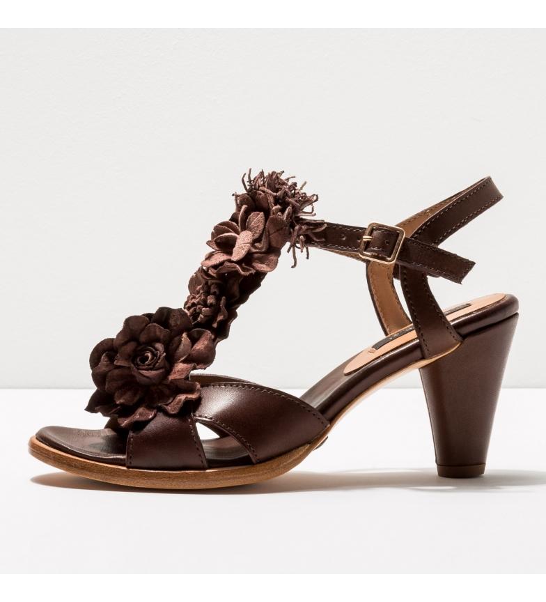 Comprar NEOSENS Sandales en cuir S969 Montua marron -Hauteur du talon : 7,5cm