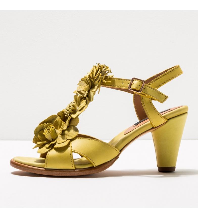Comprar NEOSENS Sandales en cuir S969 Montua jaune -Hauteur du talon : 7,5cm
