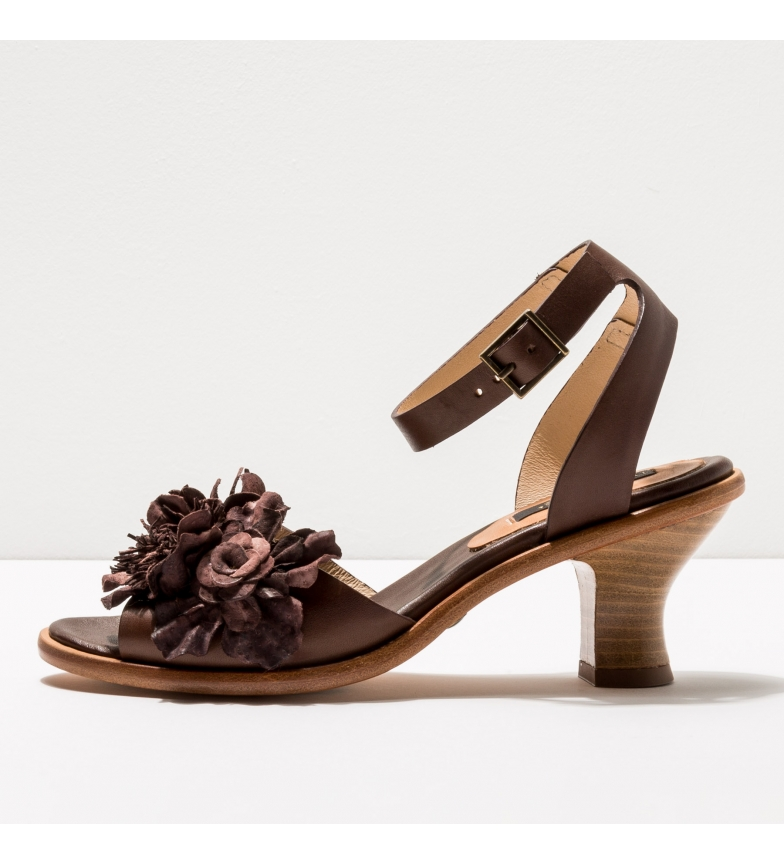 Comprar NEOSENS Sandales en cuir S989 Negreda marron -Hauteur du talon : 6cm