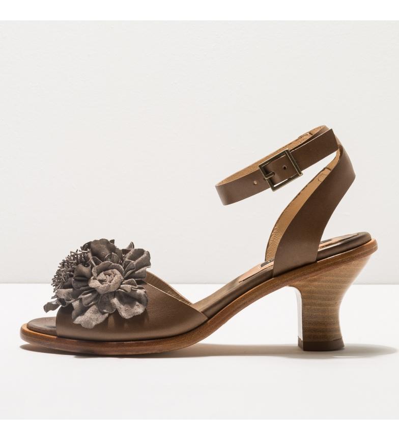 Comprar NEOSENS Sandales en cuir S989 Negreda taupe -Hauteur du talon : 6cm