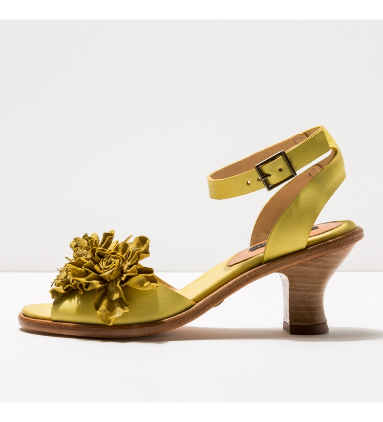Comprar NEOSENS Sandales en cuir S989 Negreda jaune -Hauteur du talon : 6cm