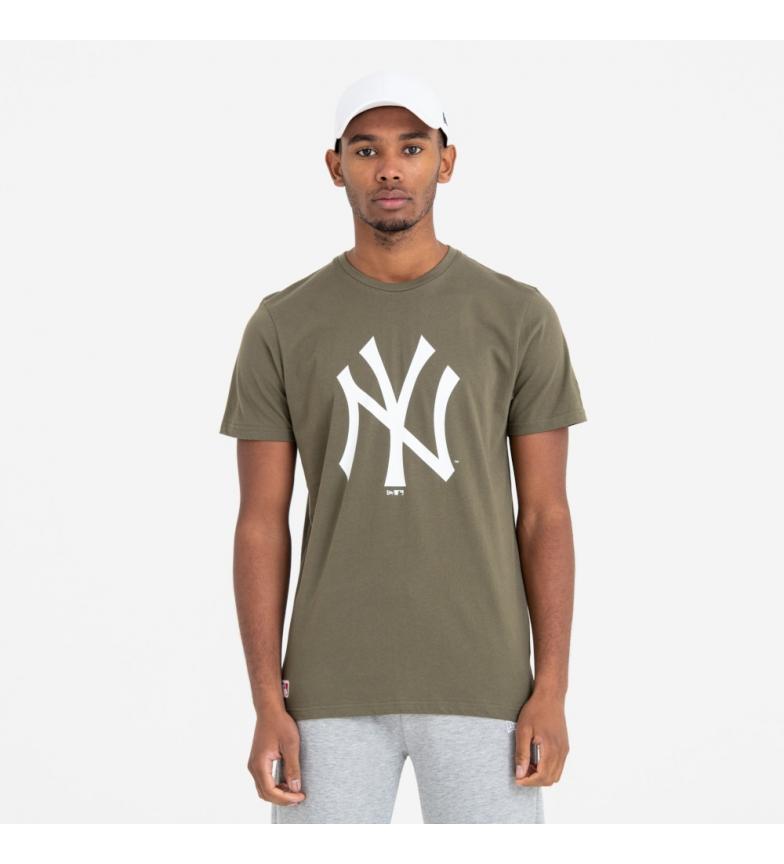 New Era Camiseta New York Yankees Team Logo verde