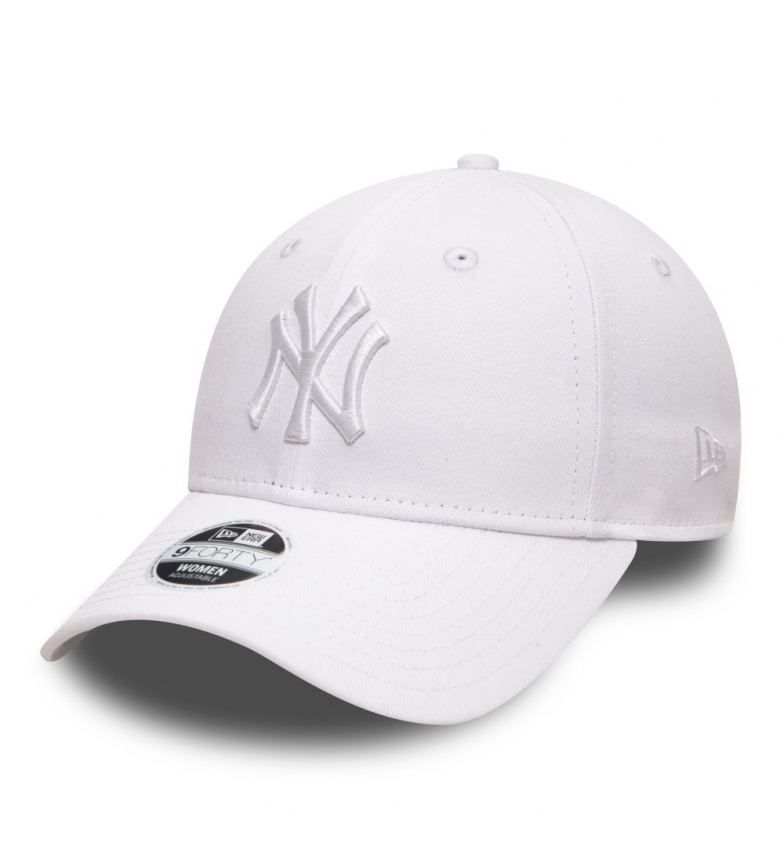 New Era New York Yankees Essential 9Forty cap white