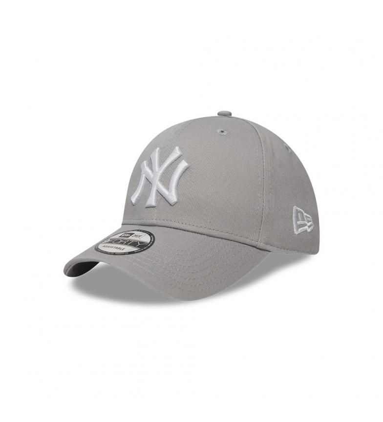 New Era Gorra New York Yankees Essential 9Forty gris