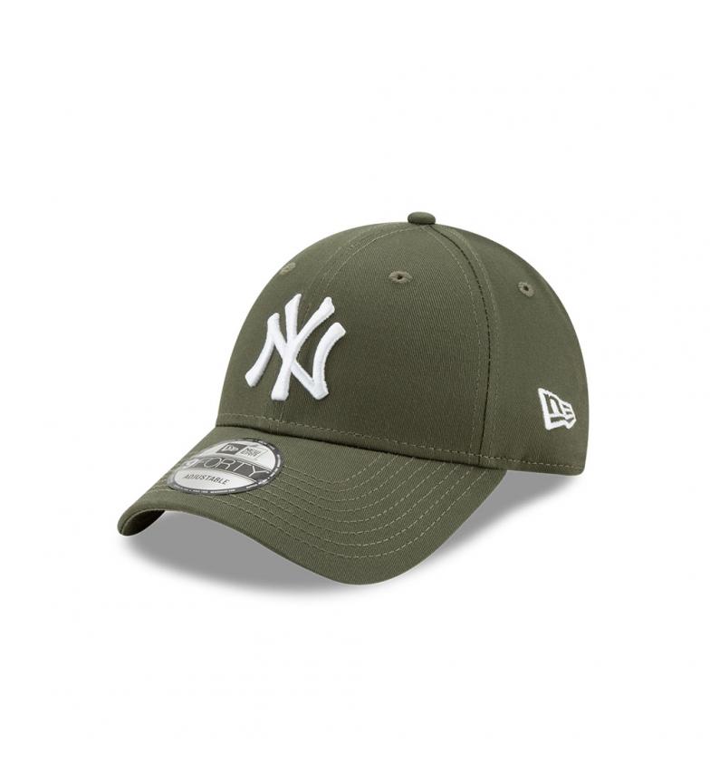 New Era Gorra New York Yankees Essential 9Forty verde