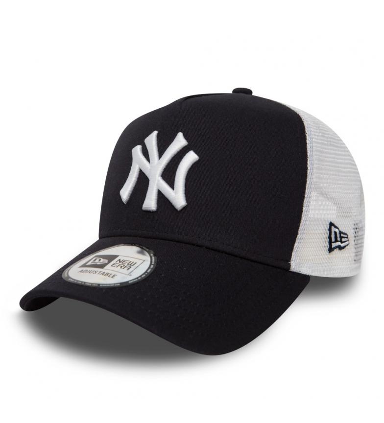 New Era Gorra Trucker New York Yankees Clean A-Frame marino