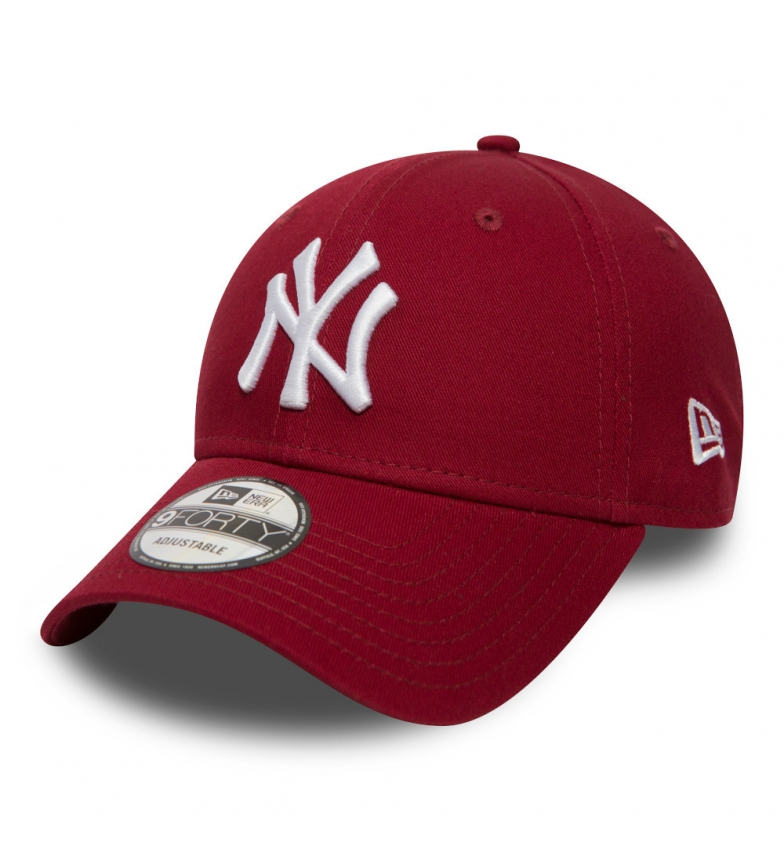 New Era Gorra New York Yankees Essential 9Forty rojo