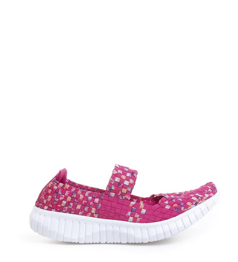 Comprar Nicoboco Pantofole di trecce fucsia