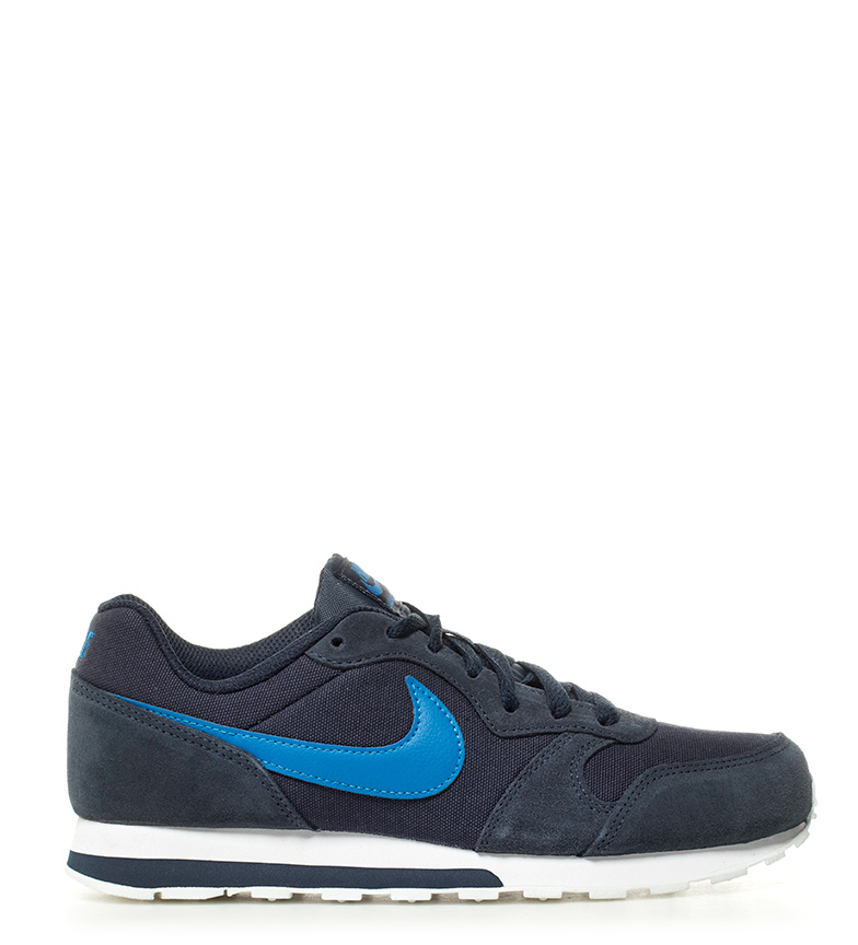 Nike Sneakers MD Runner 2 GS in pelle blu Donna