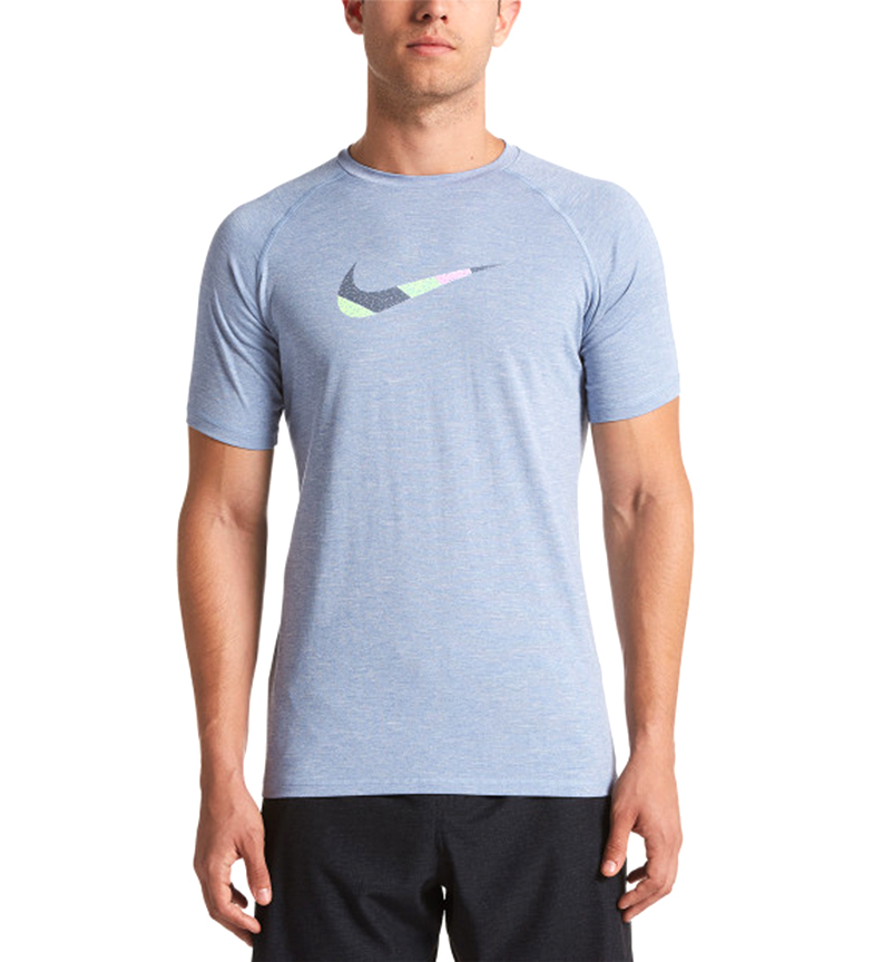 Comprar Nike Heather Mash Up Hidroguard blue indigo t-shirt / Dri-FIT