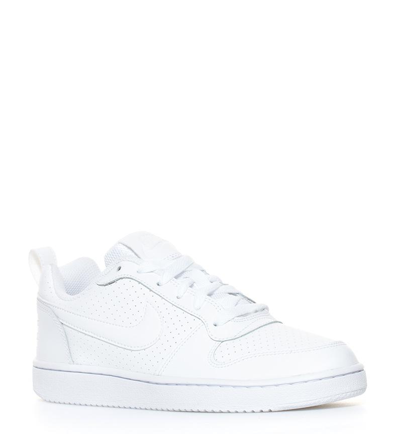 Court Borough Low Nike piel blanco de Nike Zapatillas Zapatillas XF7R6q6