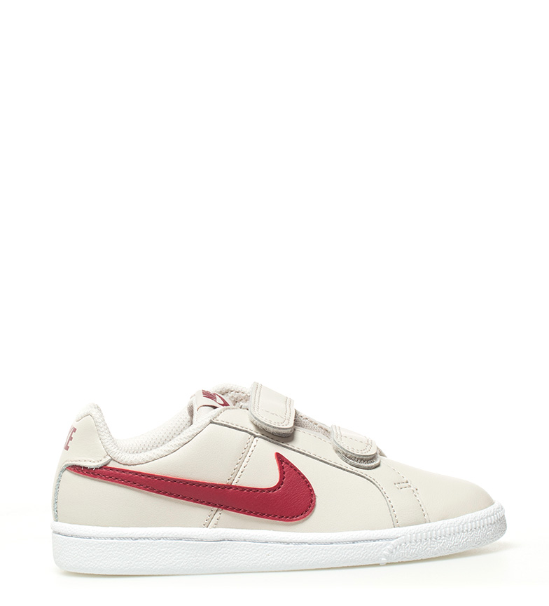Comprar Nike Chaussures Court Royale beige, rouge