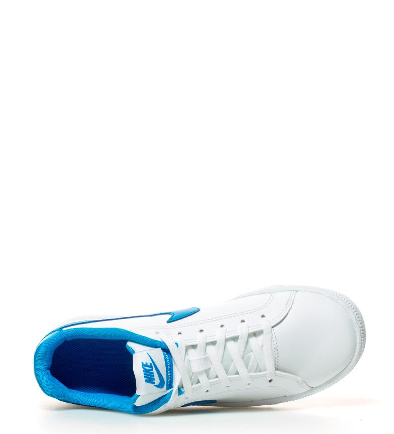 Nike Nike Zapatillas de blanco piel Royale GS Court azul Zapatillas 5ZTTHqxa