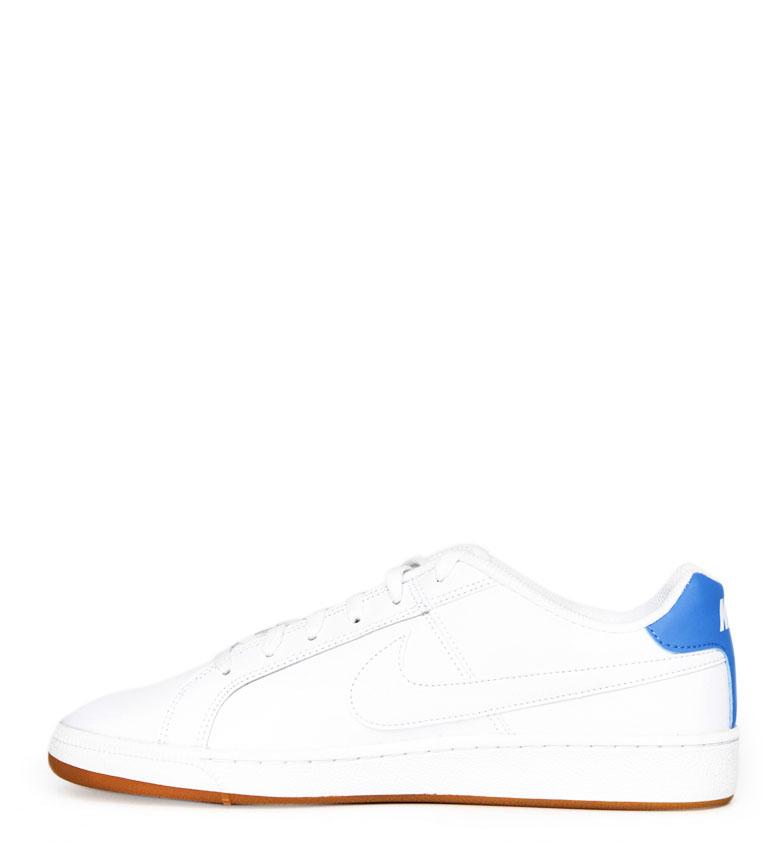 Nike-Zapatillas-Court-Royale-Hombre-chico-Blanco-Tela-Sintetico-Piel-Plano miniatura 7