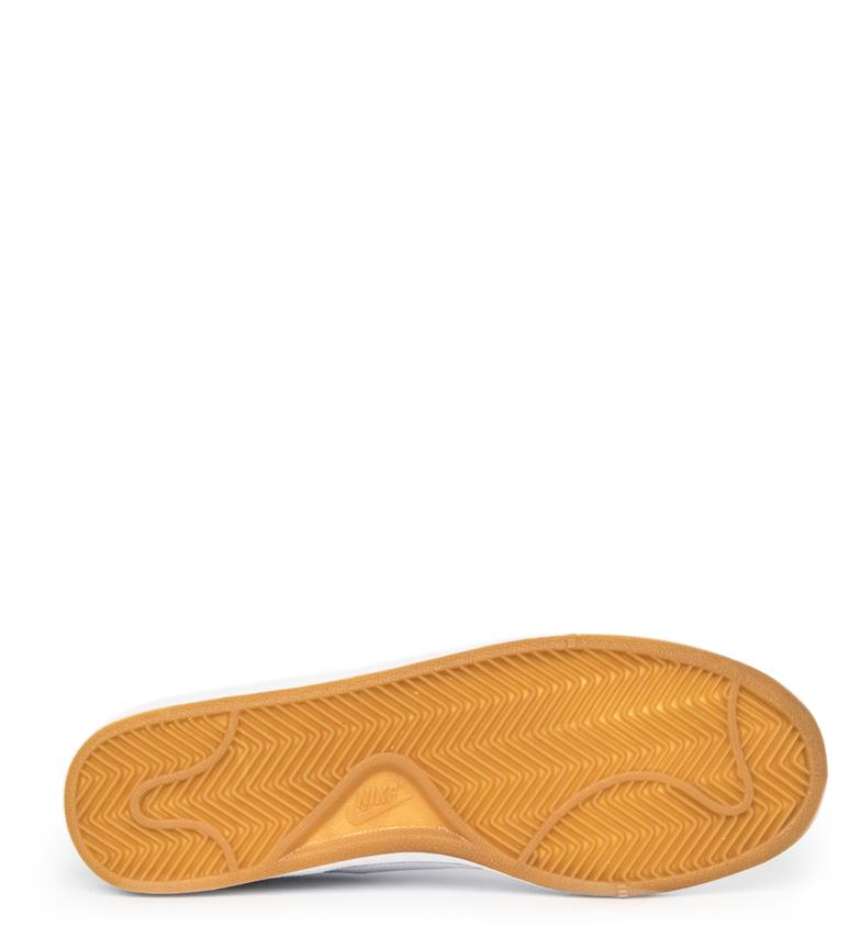 Nike-Zapatillas-Court-Royale-Hombre-chico-Blanco-Tela-Sintetico-Piel-Plano miniatura 9