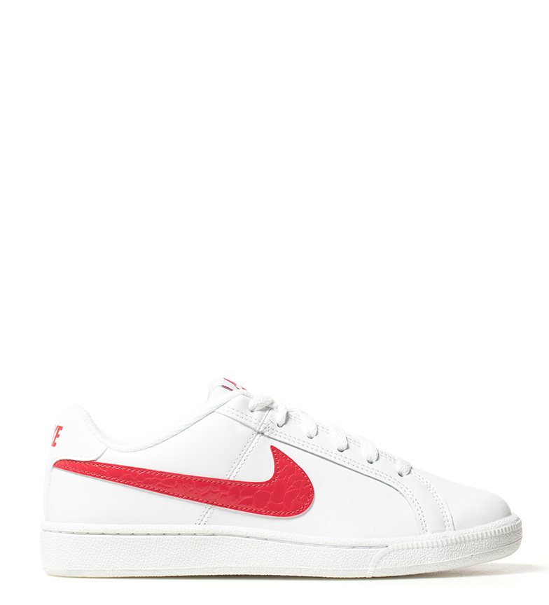 newest collection 3502b 043a4 Nike - Zapatillas Court Royale blanco, rojo Mujer chica Tela ...