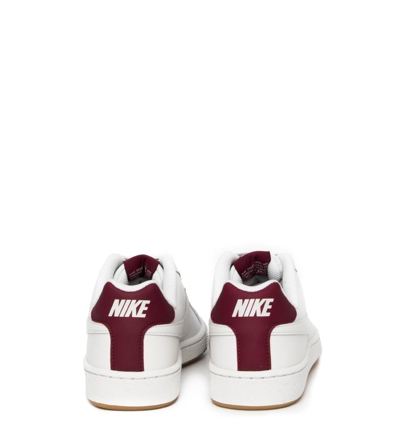Nike-Zapatillas-Court-Royale-Hombre-chico-Blanco-Tela-Sintetico-Piel-Plano miniatura 21