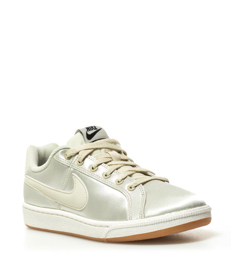 6cf6ef30e2ef5 Nike - Zapatillas Court Royale SE Mujer chica Beige Rosa Tela Plano ...