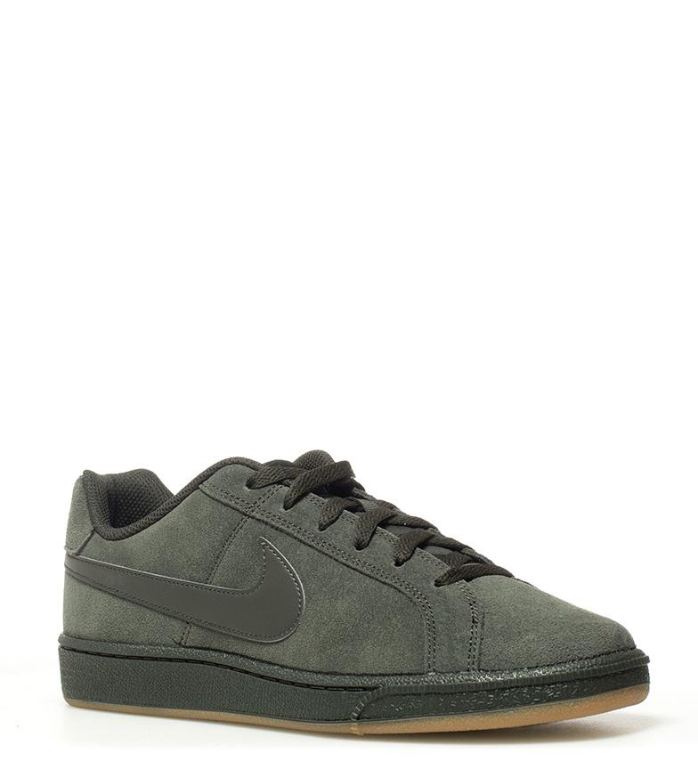 Nike Runner - Zapatillas MD Runner Nike 2 / Court Royale Ante de ante Piel Tela Azul Verde c322f4