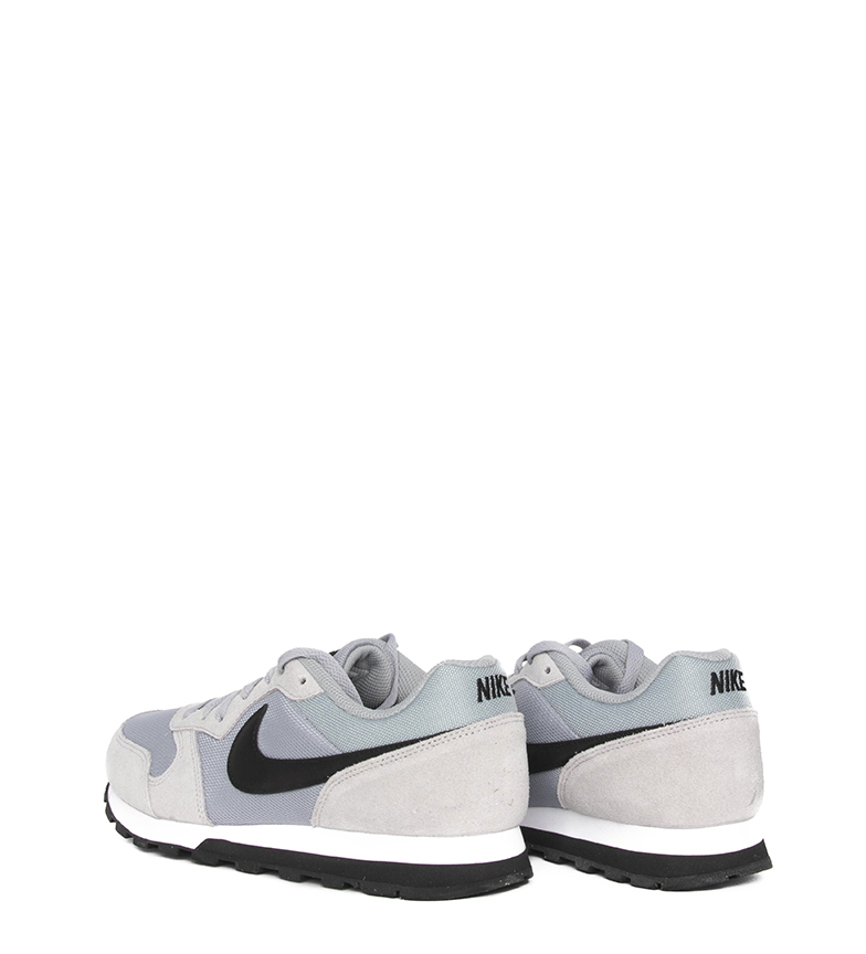 Nike-Sneakers-MD-Runner-2-Homme-Bleu-Vert-Bronze-Noir-Gris-Multicolore-Tissu miniature 39