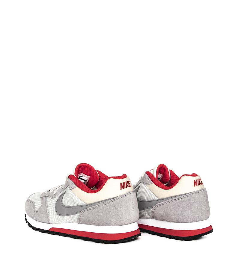 Nike-Sneakers-MD-Runner-2-Homme-Bleu-Vert-Bronze-Noir-Gris-Multicolore-Tissu miniature 34