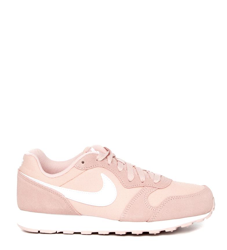 Nike-Zapatillas-de-piel-MD-Runner-2-GS-Mujer-chica-Sintetico-Tela-Azul-Negro miniatura 27