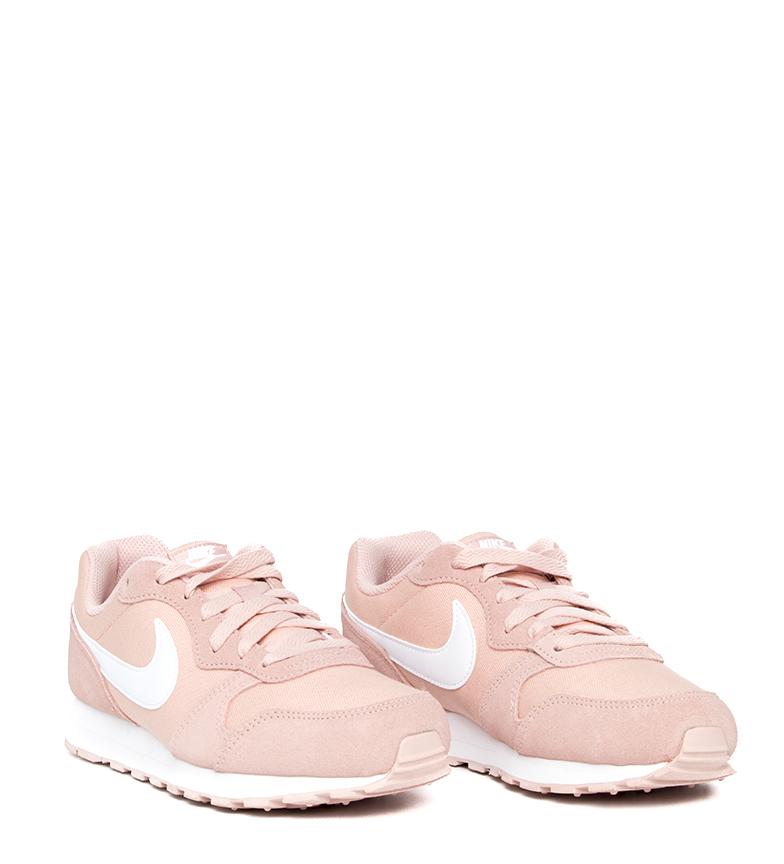 Nike-Zapatillas-de-piel-MD-Runner-2-GS-Mujer-chica-Sintetico-Tela-Azul-Negro miniatura 28