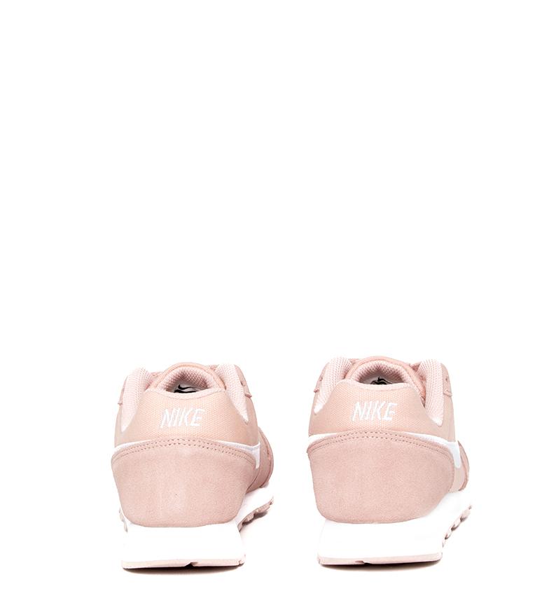 Nike-Zapatillas-de-piel-MD-Runner-2-GS-Mujer-chica-Sintetico-Tela-Azul-Negro miniatura 29