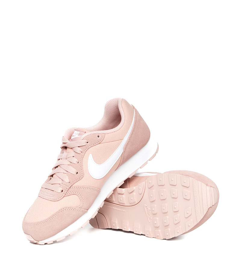 Nike-Zapatillas-de-piel-MD-Runner-2-GS-Mujer-chica-Sintetico-Tela-Azul-Negro miniatura 30