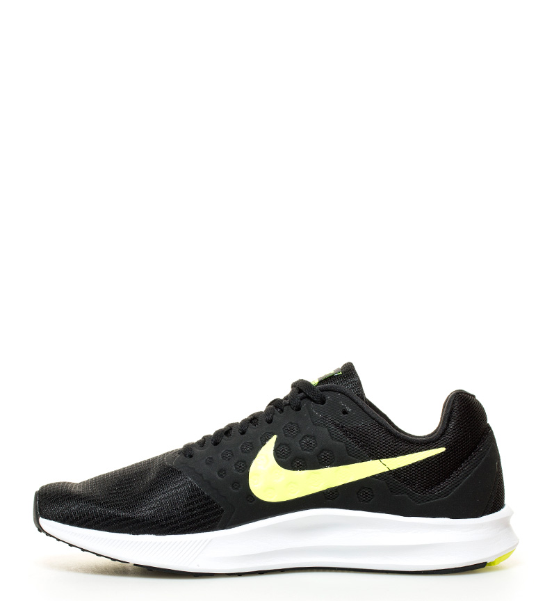 Nike Zapatillas running Downshifter 7 negro, amarillo