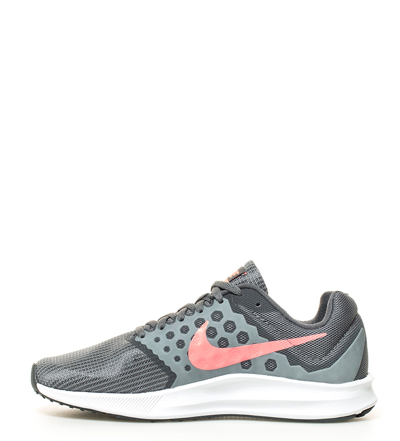 Nike 7 Wide Downshifter gris Zapatillas running xOHxUqFpw