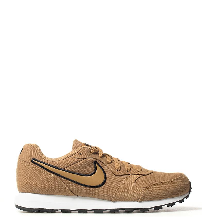 Nike-Sneakers-MD-Runner-2-Homme-Bleu-Vert-Bronze-Noir-Gris-Multicolore-Tissu miniature 19