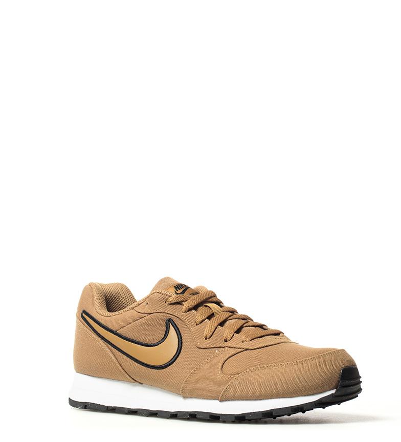 Nike-Sneakers-MD-Runner-2-Homme-Bleu-Vert-Bronze-Noir-Gris-Multicolore-Tissu miniature 20