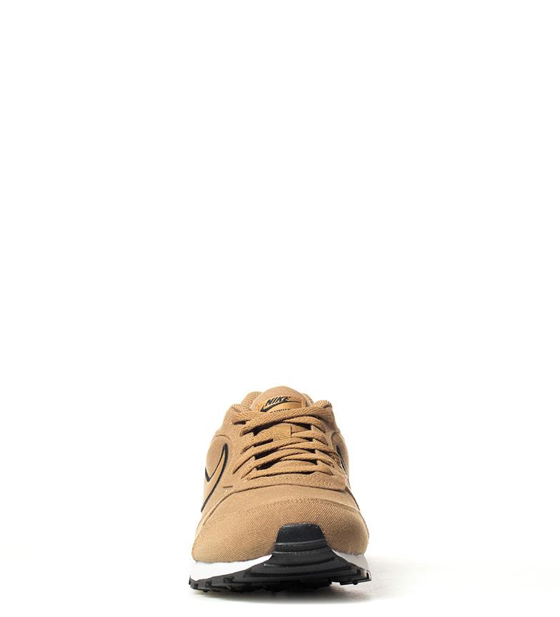Nike-Sneakers-MD-Runner-2-Homme-Bleu-Vert-Bronze-Noir-Gris-Multicolore-Tissu miniature 21