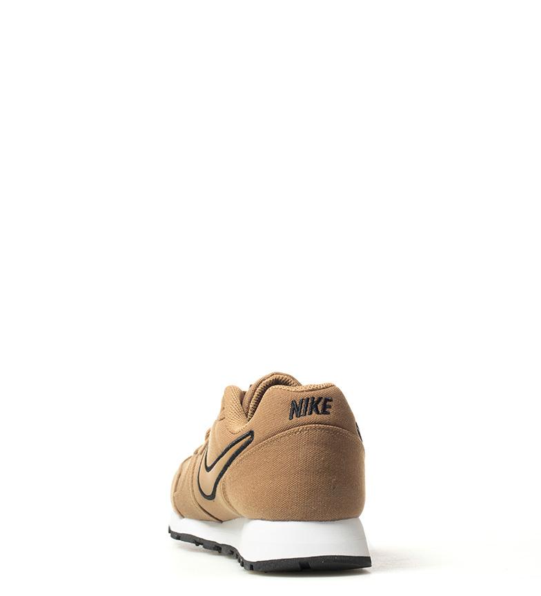 Nike-Sneakers-MD-Runner-2-Homme-Bleu-Vert-Bronze-Noir-Gris-Multicolore-Tissu miniature 22