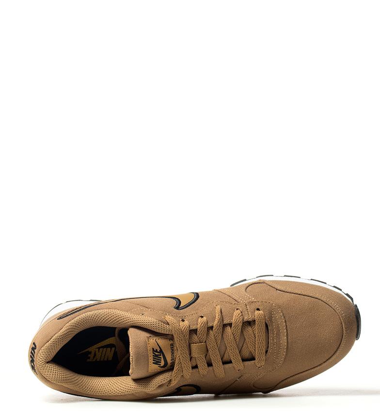 Nike-Sneakers-MD-Runner-2-Homme-Bleu-Vert-Bronze-Noir-Gris-Multicolore-Tissu miniature 24