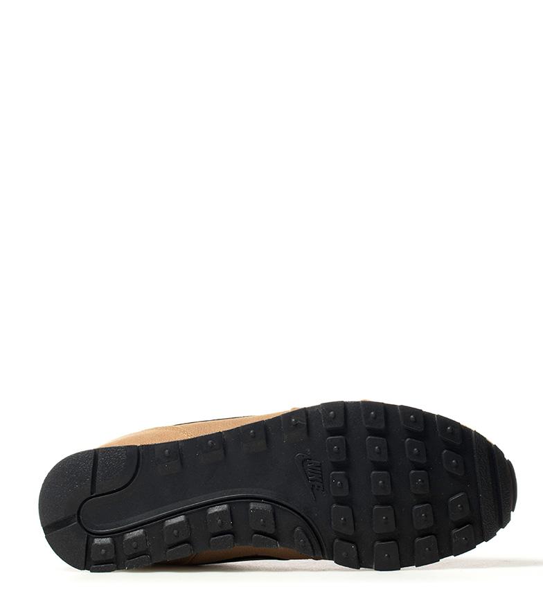Nike-Sneakers-MD-Runner-2-Homme-Bleu-Vert-Bronze-Noir-Gris-Multicolore-Tissu miniature 25