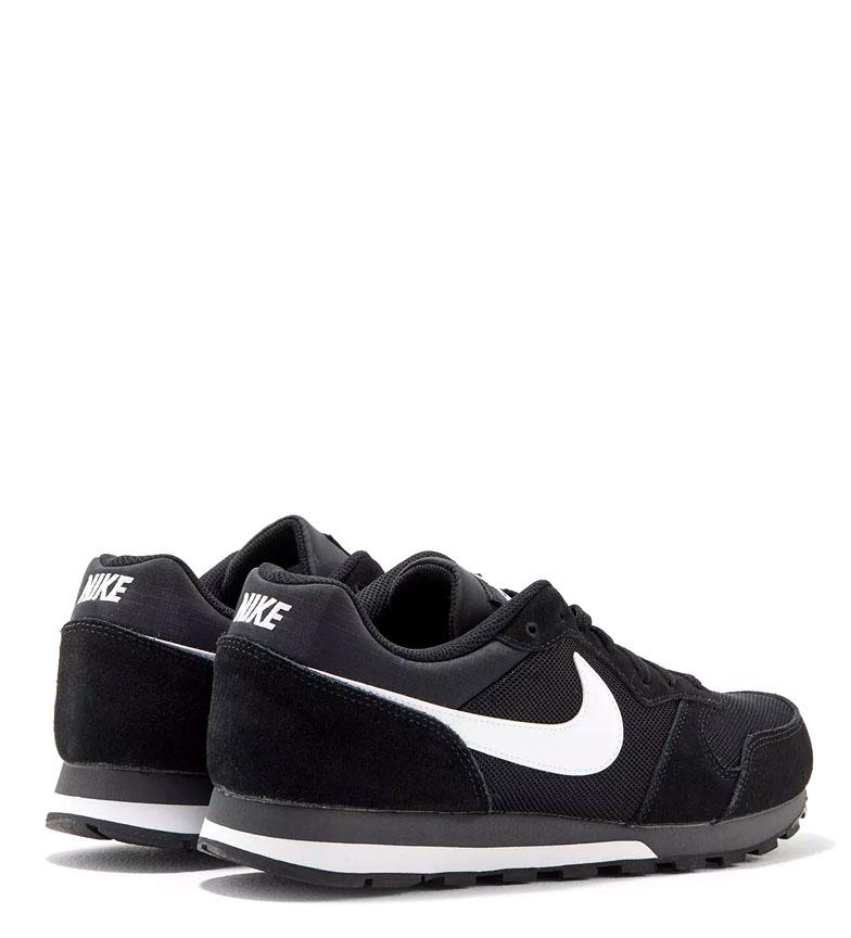 Nike-Sneakers-MD-Runner-2-Homme-Bleu-Vert-Bronze-Noir-Gris-Multicolore-Tissu miniature 29
