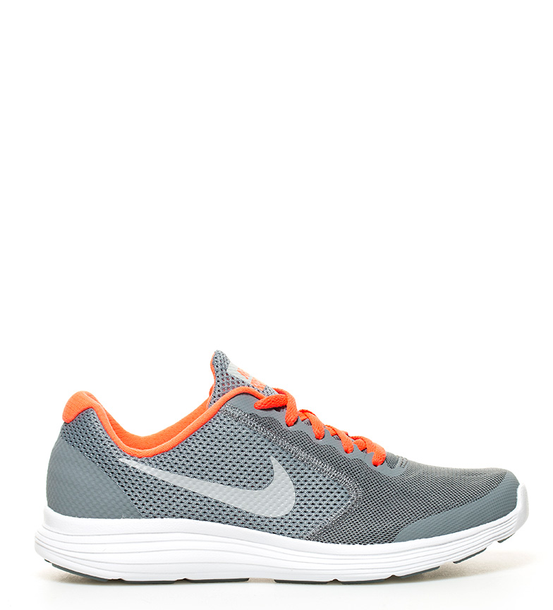 gris Nike 3 Nike Zapatillas Revolution Zapatillas GS running 1x0fwq