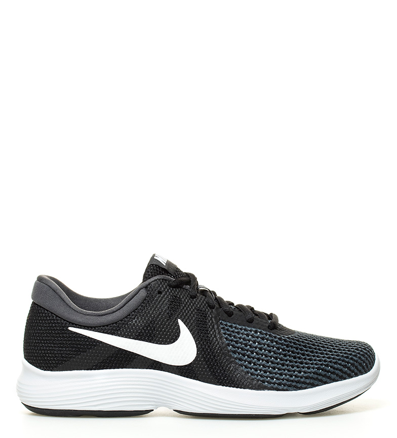 Nike Joggesko Revolution 4 Sort, Antrasitt