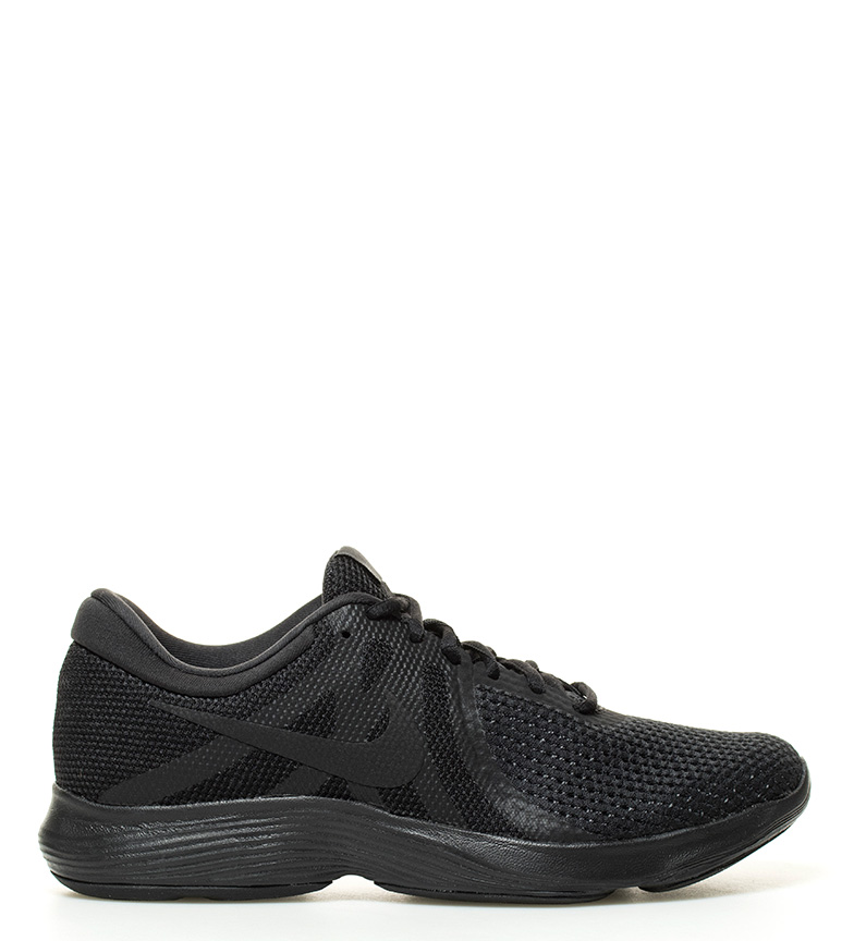 Nike-Sneakers-running-Revolution-4-Homme-Blanc-Noir-Bleu-Gris-Rouge-Tissu miniature 35