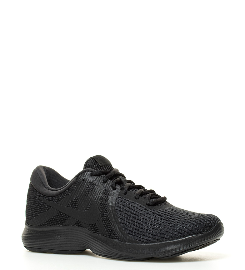 Nike-Sneakers-running-Revolution-4-Homme-Blanc-Noir-Bleu-Gris-Rouge-Tissu miniature 36