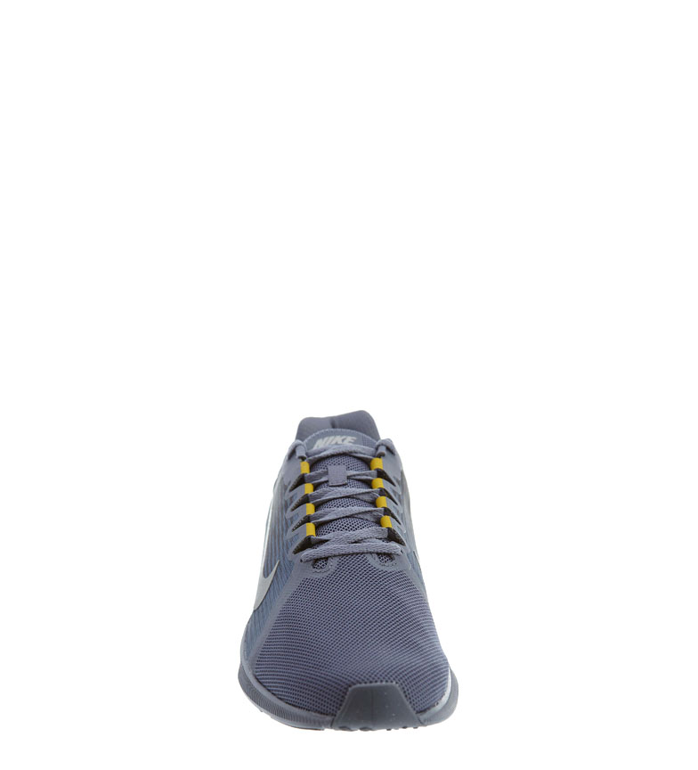 Nike-Zapatillas-running-Downshifter-8-Hombre-chico-Azul-Gris-Negro-Verde-Tela miniatura 5